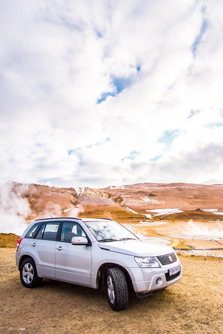 SADcars in Iceland