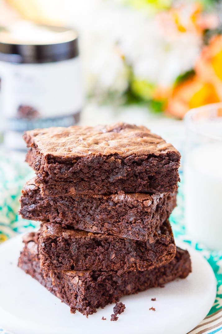 These classicFudge Browniesare loaded with rich, deep, chocolate flavor and have a crisp top and fudgy center and are sure to be loved by everyone!