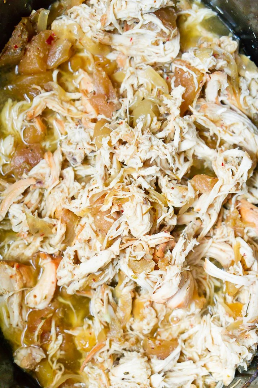 Crock Pot Pulled Chicken