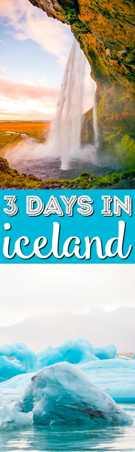 Iceland 3-Day Itinerary - Looking for Things to do in Iceland? Here's the ultimate travel guide to everything you need to see, eat and do in Iceland during your weekend getaway or stopover!