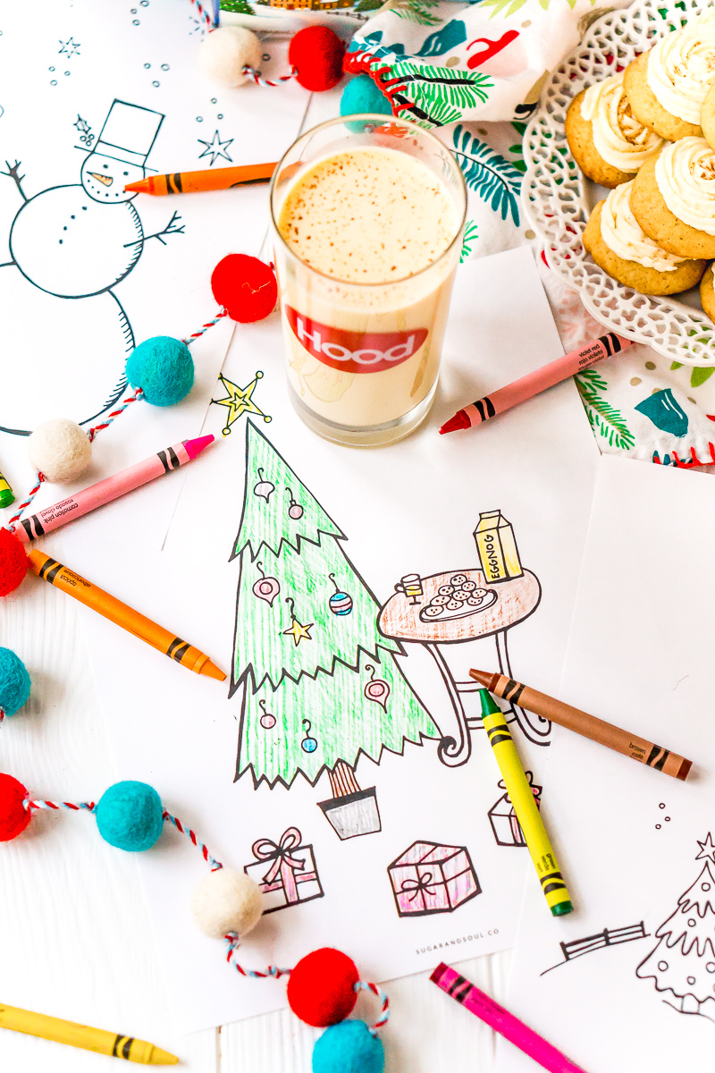 These Free Christmas Coloring Pages are an easy way to add entertainment to your child's holiday season.
