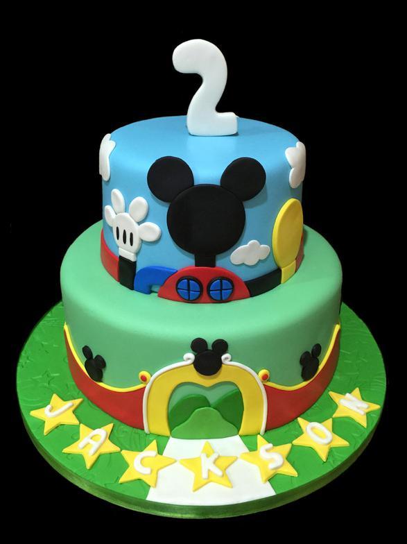 SugarBabies Mickey Minnie Mouse Birthday Cake Gallery  Mickey Mouse Birthday Cakes Near Me