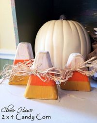 Fall 2x4 Craft Projects - Sugar Bee Crafts