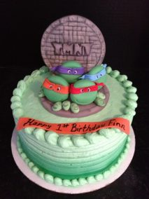 Ninja Turtles Cake Topper