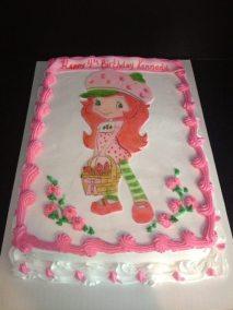 Sugarpaste Strawberry Shortcake