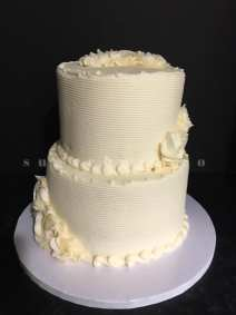2 web white combed cake w