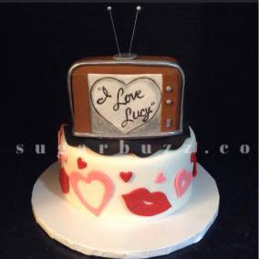 A Lucy cake