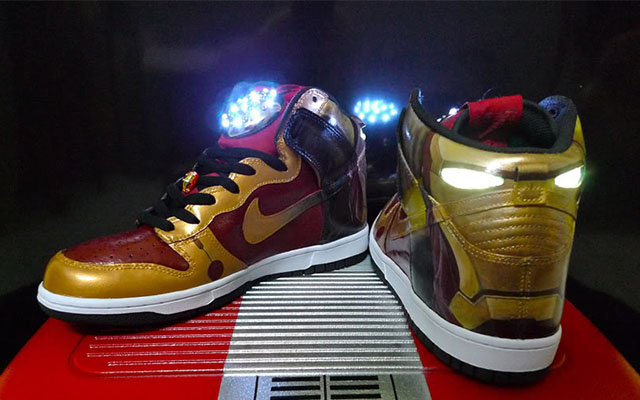 Nike Light Shoes Back Future