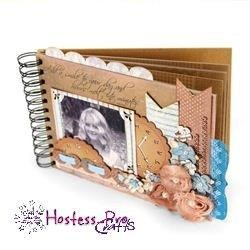 "Add a Smile to your Day - 6""x 8.5"" Spiral Bound Album Kit"