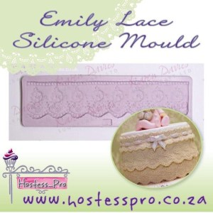 Emily Lace Silicone Mould