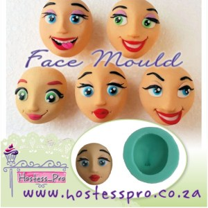 Face Silicone Mould
