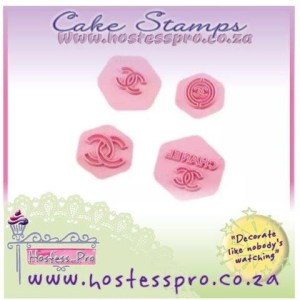 Chanel Impress Cutter and Cake Stamp