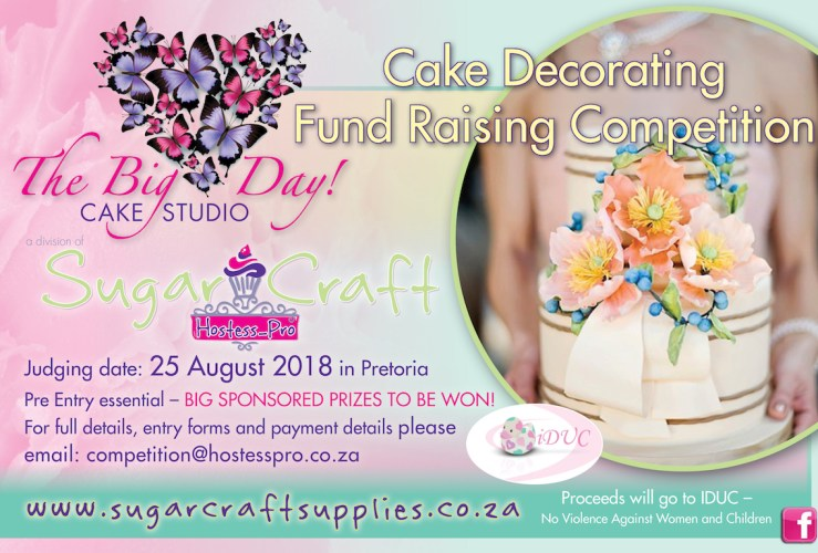Cake Decorating Competition – FUNDRAISING EVENT – 25 August 2018