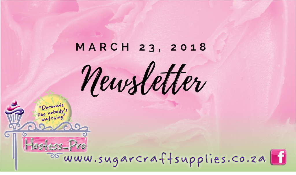 Newsletter, 22 March 2018