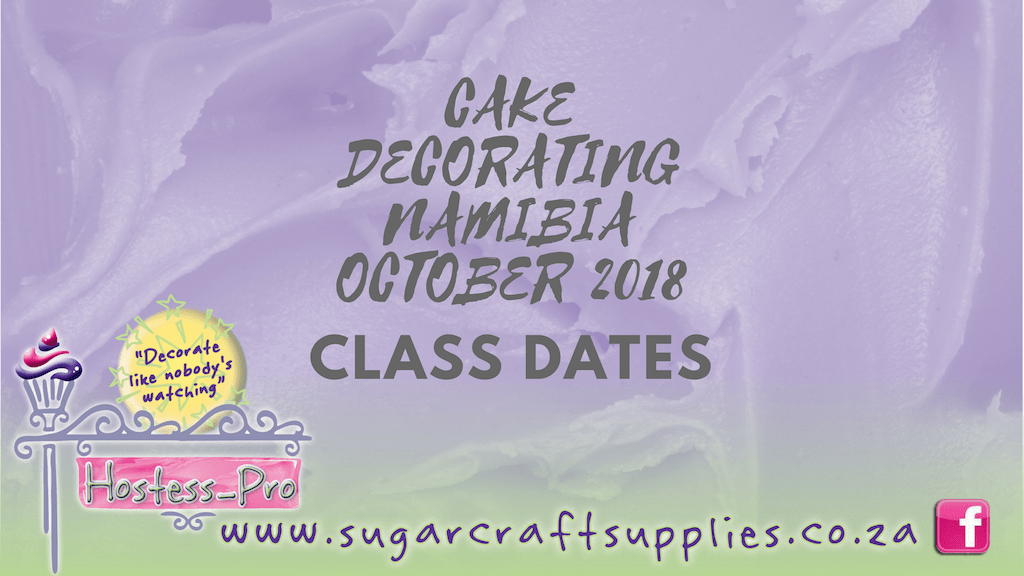 CAKE DECORATING CLASSES NAMIBIA