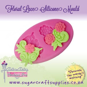 Silicone Mould | Floral Lace