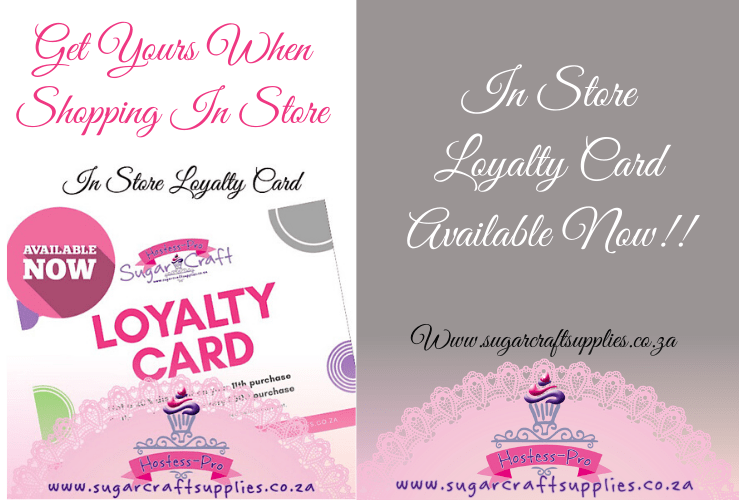 In-Store Loyalty Card Now Available!!!👩🏻‍🍳