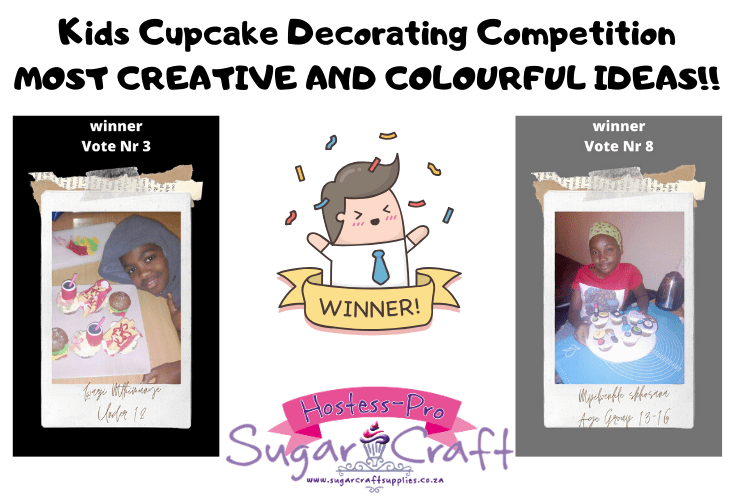 Kids Cupcake Decorating Competition Winners