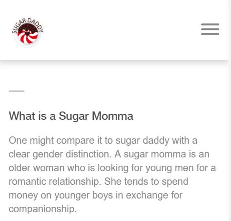 Whats a Sugar Momma Mean? Free Sugar Momma Sites in 2019