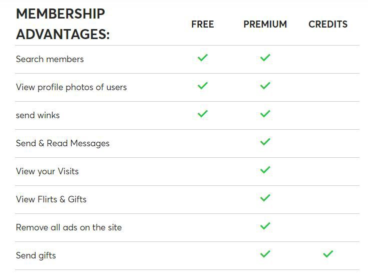 RichMeetBeautiful Membership Advantages