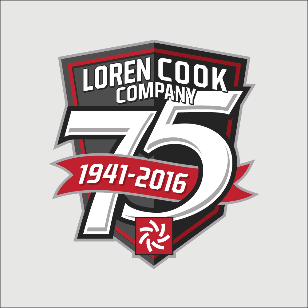 cook 75th anniversary logo