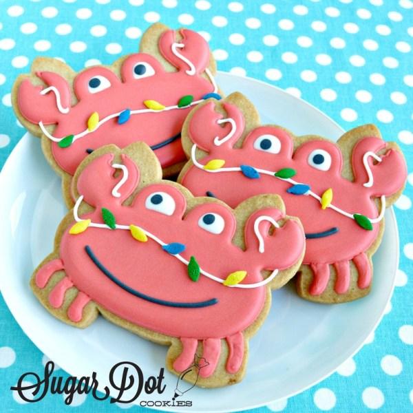 Dot Sugar Cookies Christmas Year Of Clean Water
