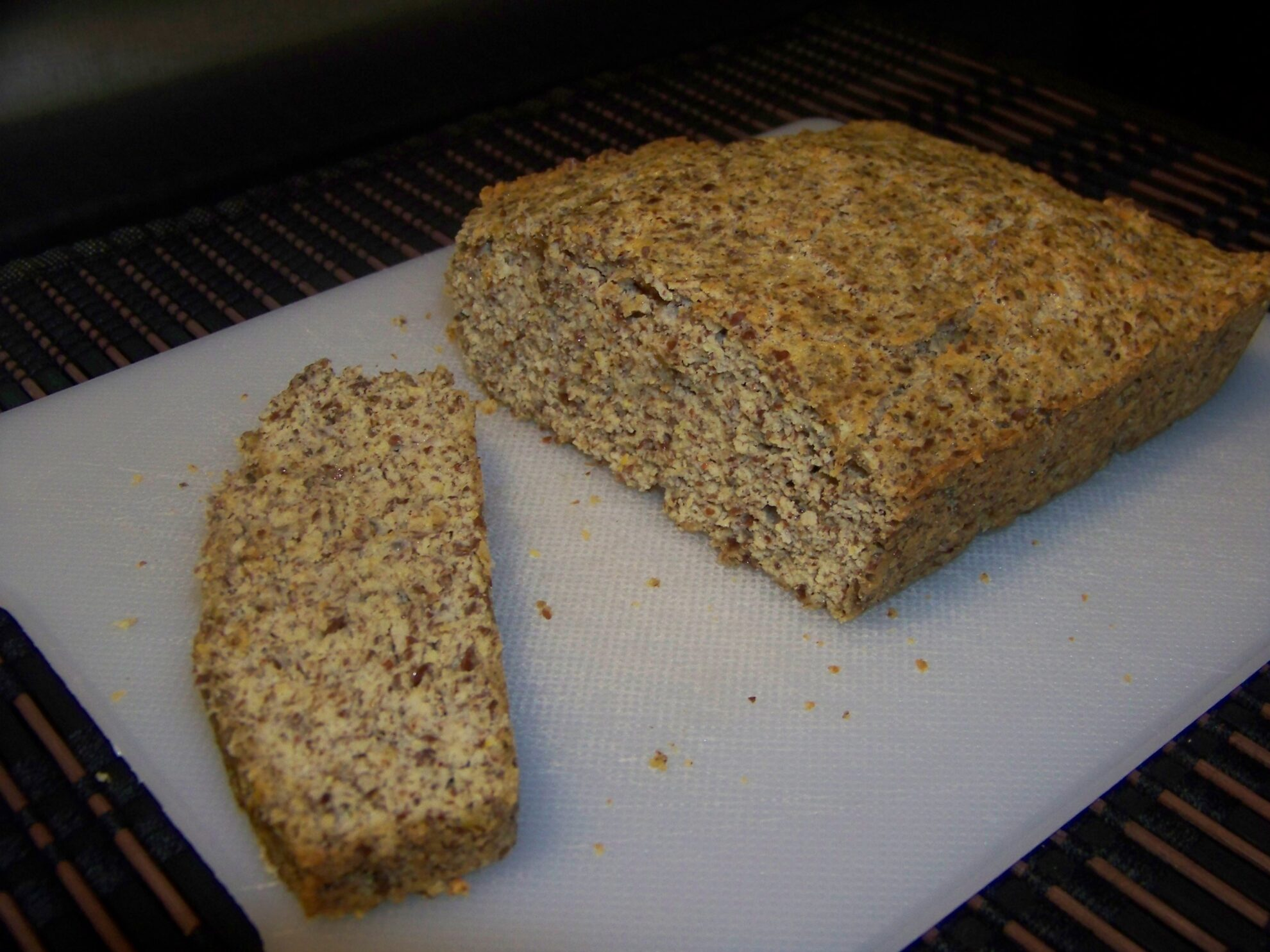Coconut Flour Flax Bread or Muffins | Low Carb Yum