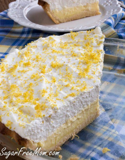 low carb lemon cream pie