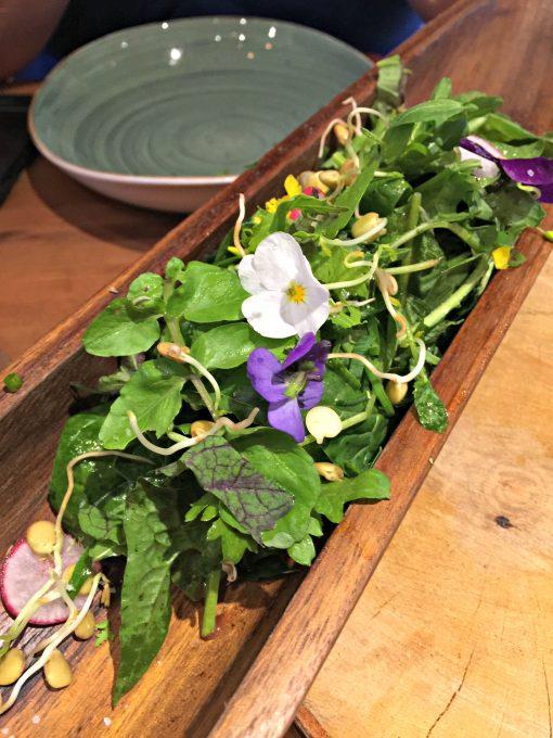 salad at the inn