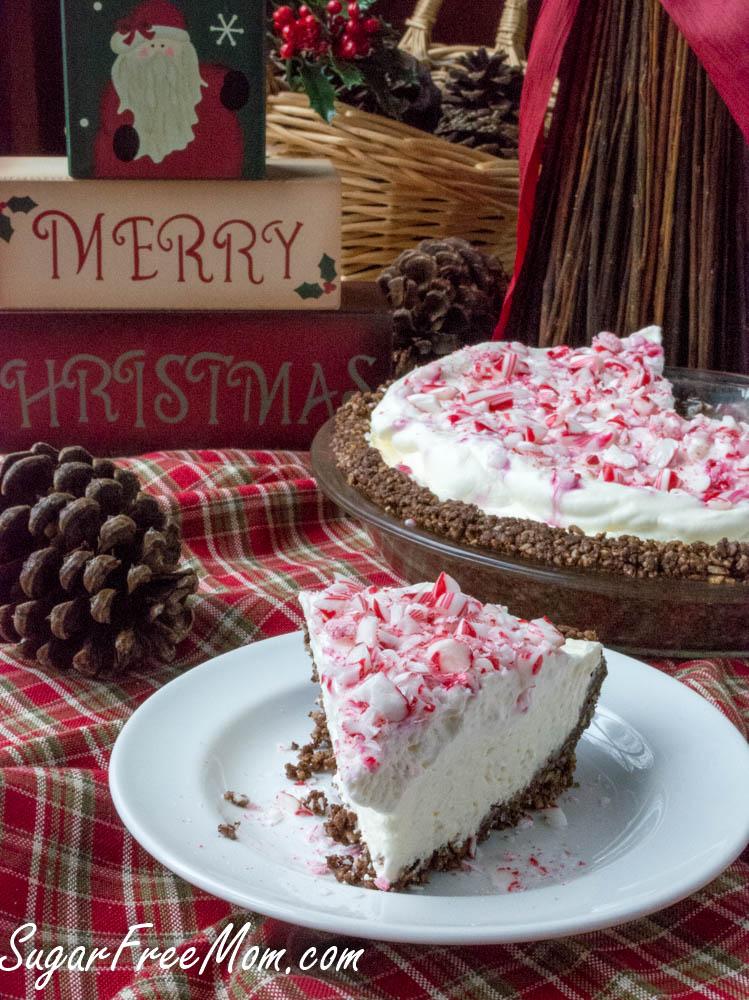 sugar-free-peppermint-cheesecake-pie-5
