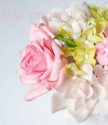 Pink Rose & Hydrangea
