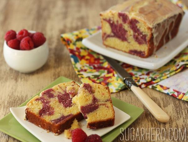 Passion FruitRaspberry Pound Cake SugarHero