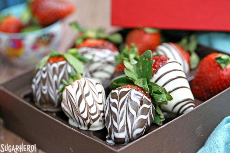 Chocolate Covered Strawberries Five Ways SugarHero