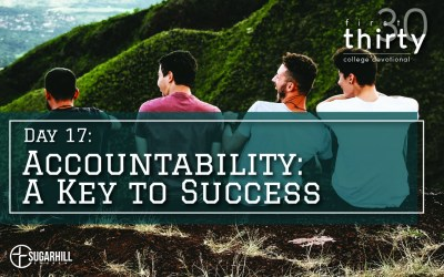 Day 17 – Accountability: A Key to Success