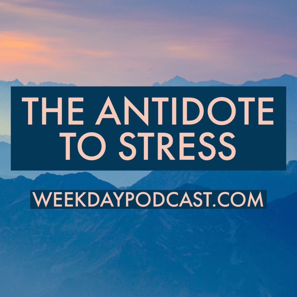 The Antidote to Stress Image