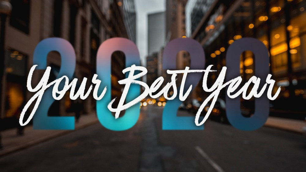 Your Best Year: Week 4