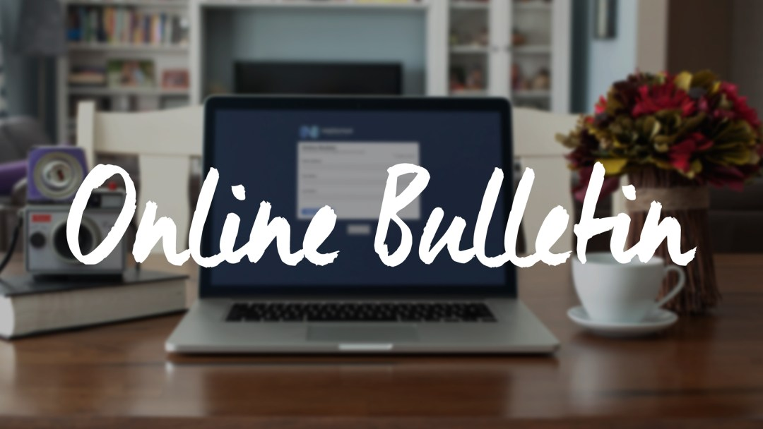 Online Bulletin [October 16, 2016]