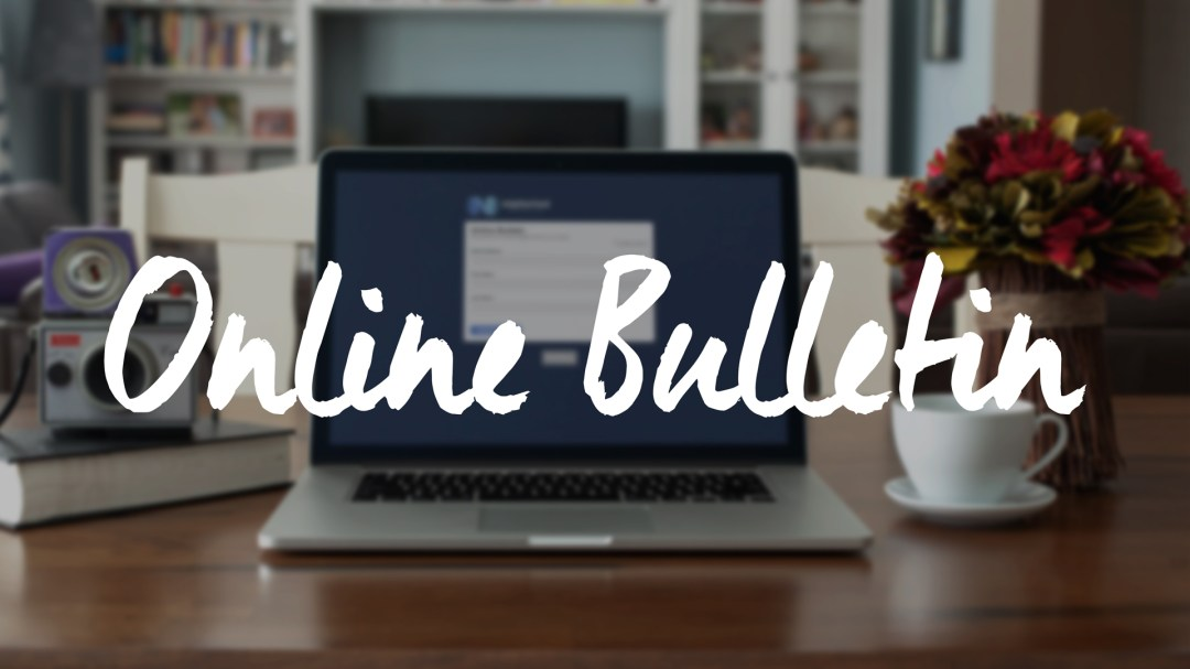 Online Bulletin [October 13, 2019]