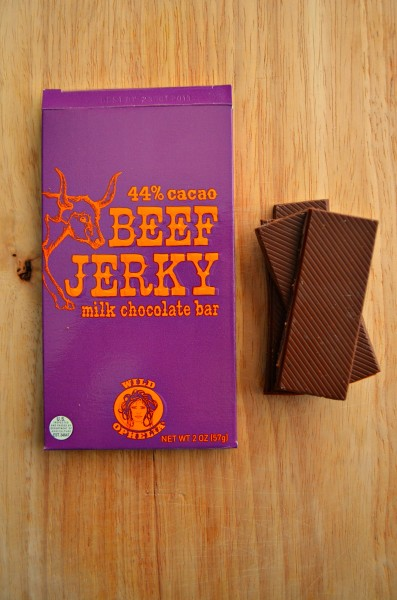 Subscription Box Swaps Wild Ophelia Beef Jerky Chocolate Bar