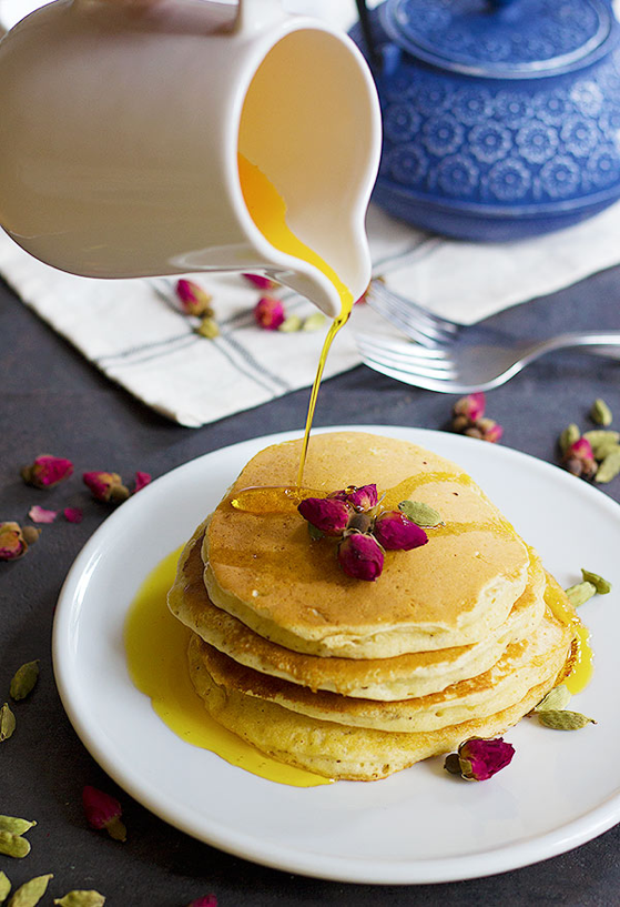 The Best Pancake Recipes Made with Flower Water
