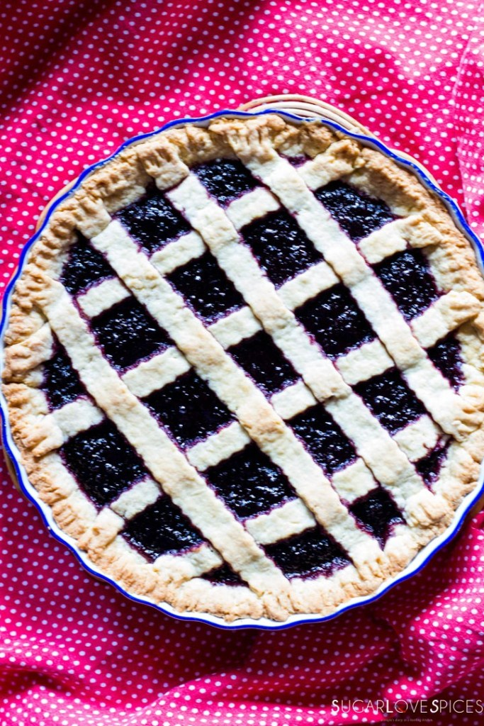 Crostata (Jam Tart)-whole