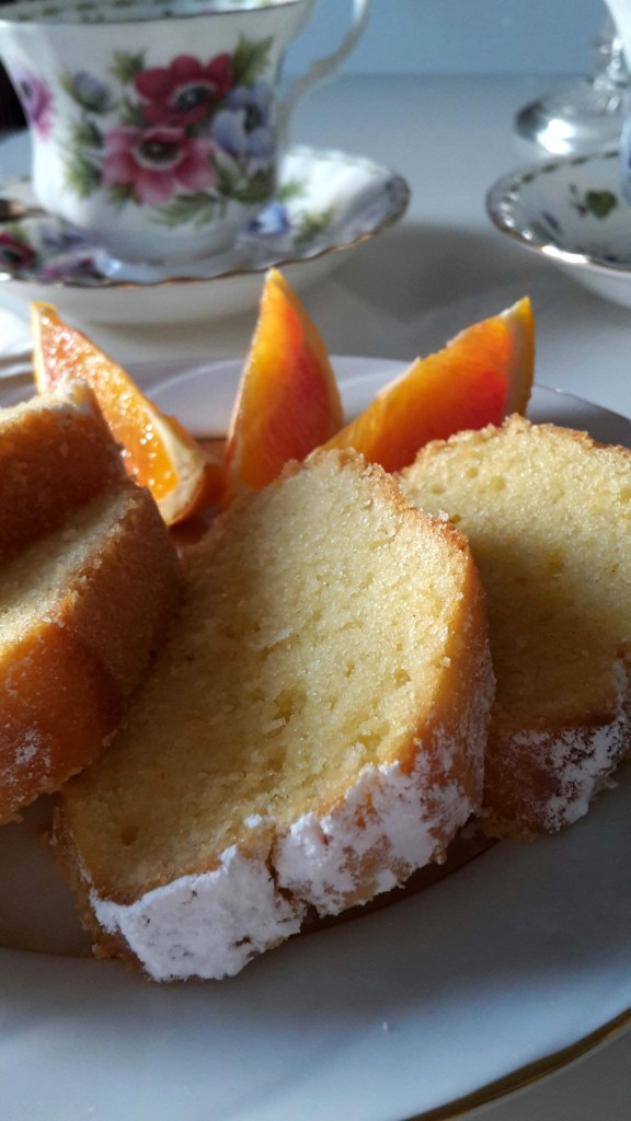 Orange Ginger Yogurt Bundt Cake