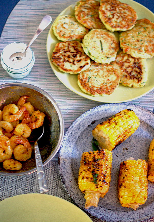 zucchine fritters