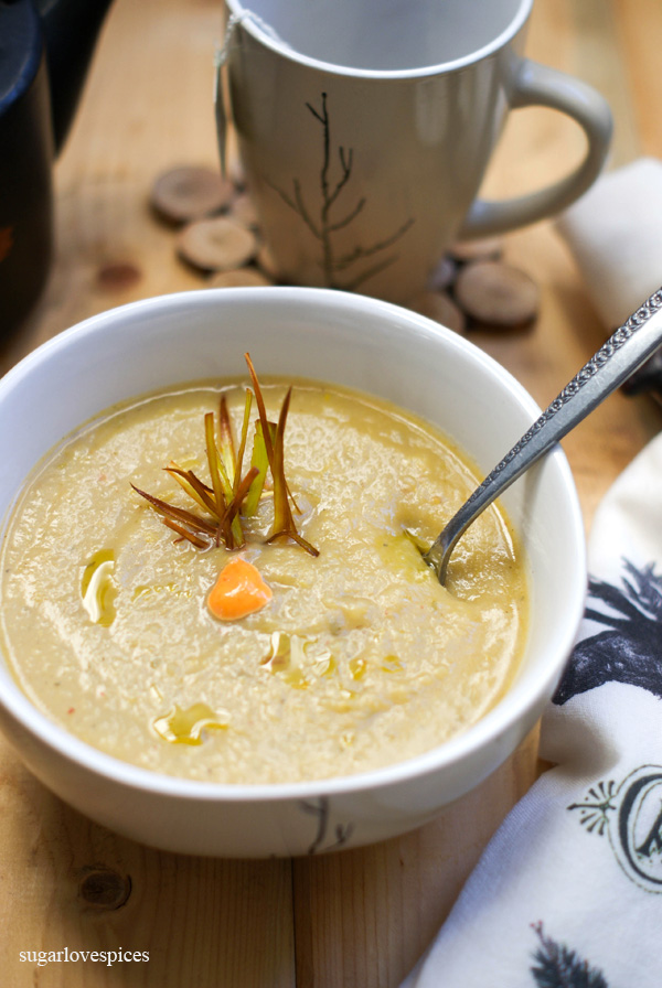 Chunky Potato Leek Soup
