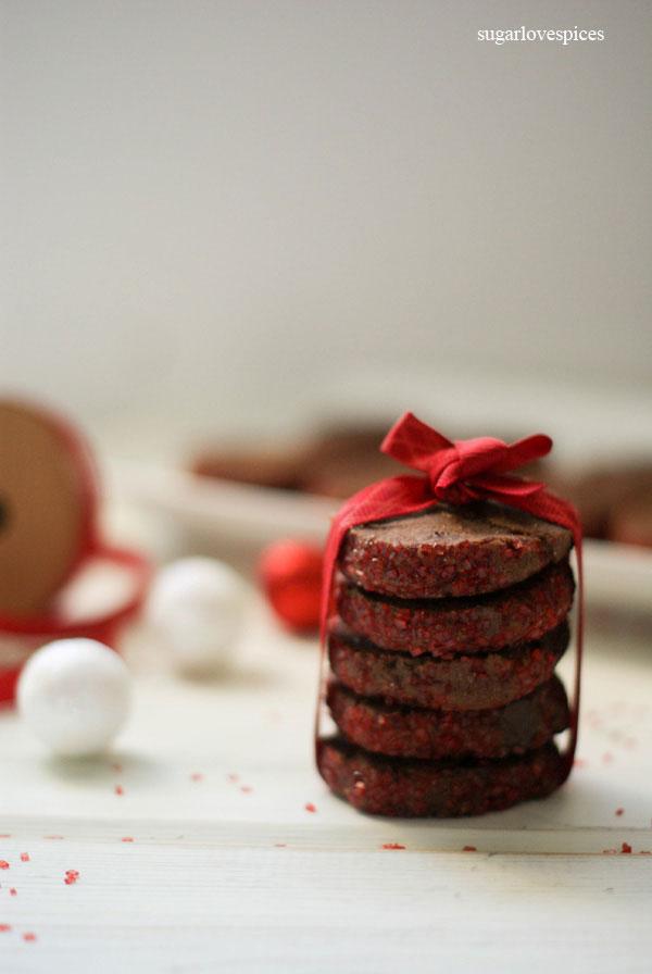 Chocolate Shortbreads