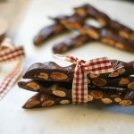 Maria's Chewy Chocolate Almond Bark