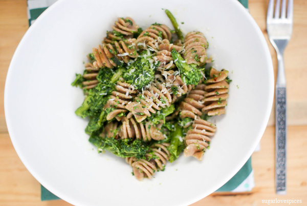Farro Fusilli with Broccoli