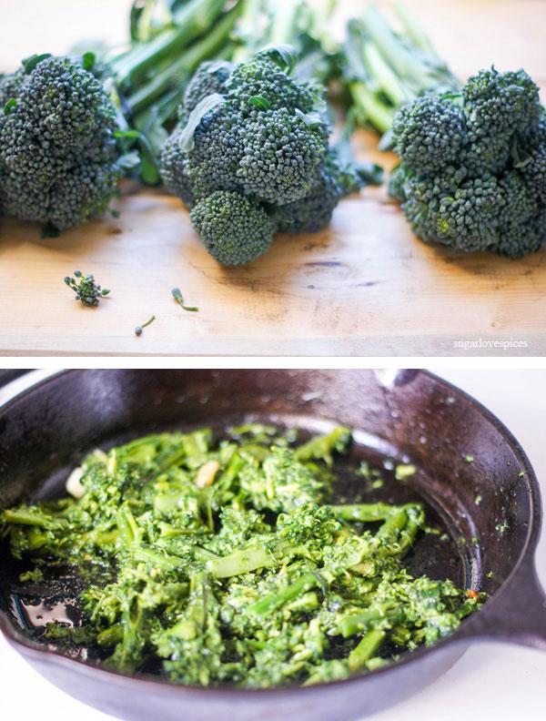 Farro Fusilli with Broccoli