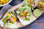 Shrimp Sweet Pea Salad Boats