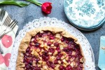 Cranberry Pear Galette with Pecan Crust